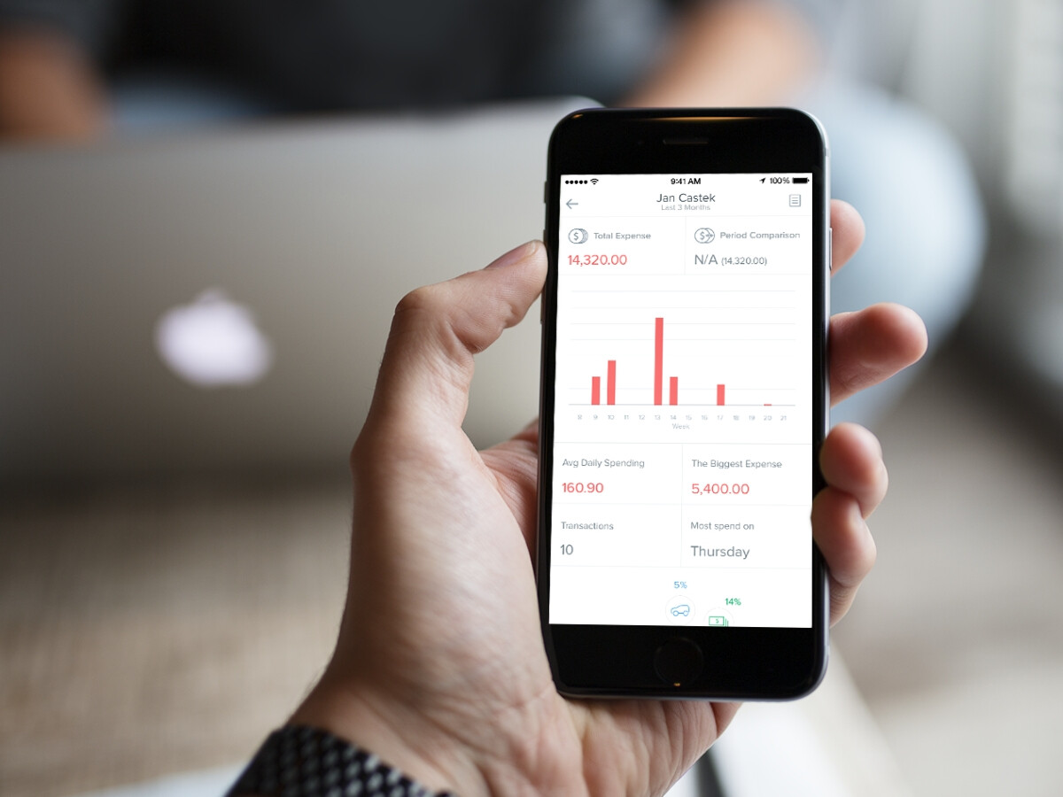 Tracking expenses on iOS