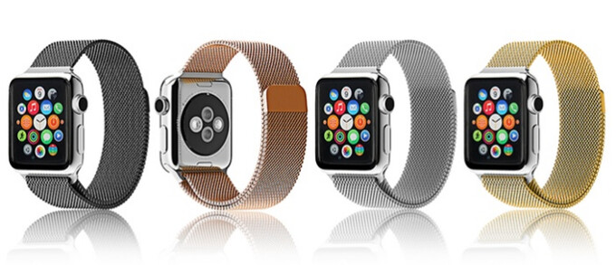 What a deal! Milanese Loop band for the Apple Watch discounted to $24.99, you save $125
