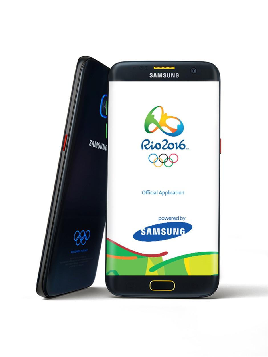Samsung Galaxy S7 and S7 edge Olympic Editions unveiled, heading to Best Buy later this month