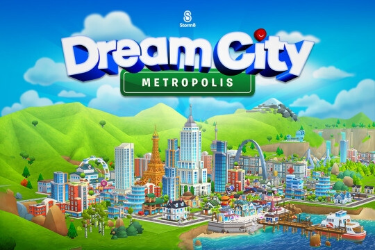 Build your Dream City and solve a strange mystery in the