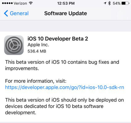 Here's how to download and install iOS 10 Public Beta