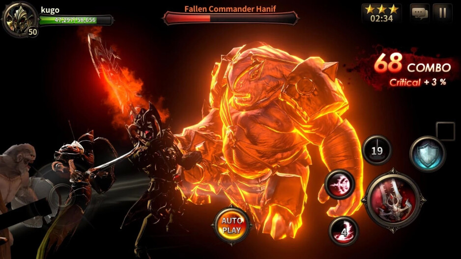 In the heat of battle - Heroes of Incredible Tales is a mighty Unreal Engine-powered action RPG out now on Android and iOS