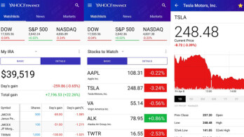 Yahoo finance stock options