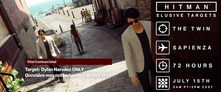 The next one in Agent 47's daily agenda... - New Hitman Companion app for Android and iOS will tell gamers all about their next assassination target in advance