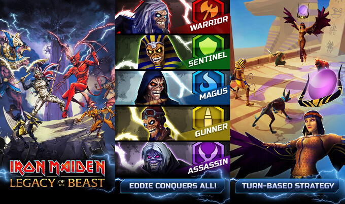 Maiden Legacy of the Beast - Best new Android and iPhone games (July 5th - July 11th)