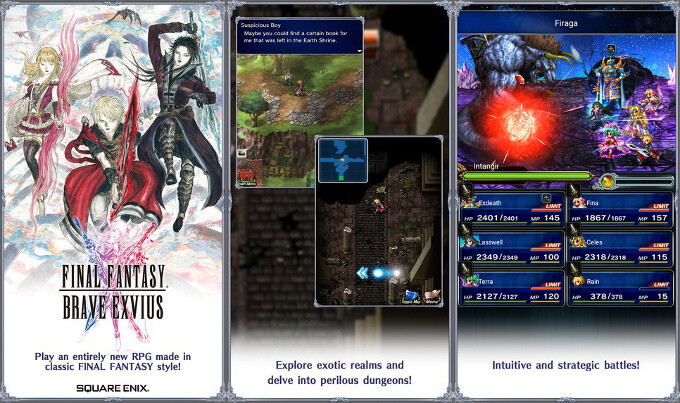 Final Fantasy Brave Exvius - Best new Android and iPhone games (July 5th - July 11th)