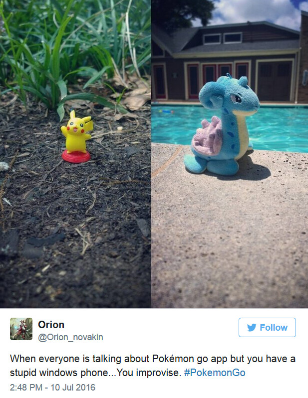 How Windows 10 Mobile users play Pokemon Go - Windows 10 Mobile users feel left out; 36,000 sign a petition demanding Pokemon Go for the platform
