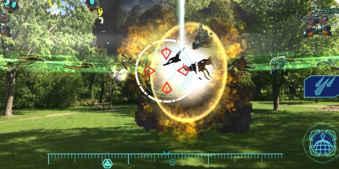 Clandestine Anomaly – no Pokemons here, but plenty of vicious aliens to fight... - 5 augmented reality games to play on your smartphone when you get tired of Pokemon Go