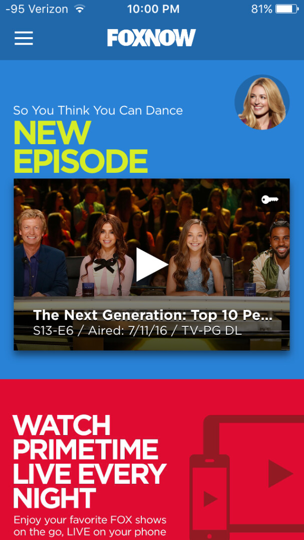 OX's prime time live stream can be viewed on the FOX NOW app - Live stream your favorite Gordon Ramsay show or other FOX prime time programming from FOX NOW