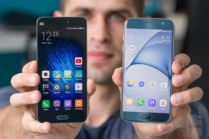 """Xiaomi Mi 5 vs Galaxy S7 - the next editions of these two could share common components"""" &nbsp - Samsung getting chummy with Xiaomi on chips, dual cameras and OLED displays"""