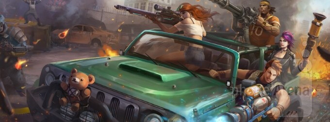Gun Glory: Anarchy is a chaotic third-person action shooter with over 30 guns and live PVP multiplayer matches
