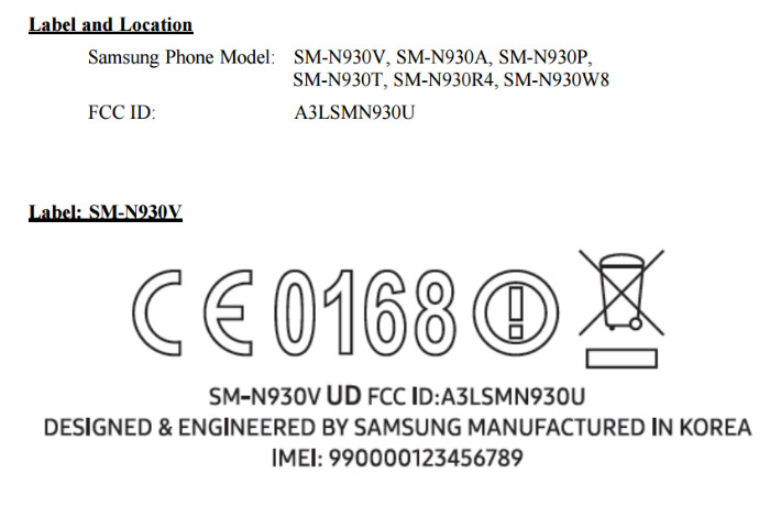 The FCC certifies the Samsung Galaxy Note 7  - Samsung Galaxy Note 7 receives FCC certification