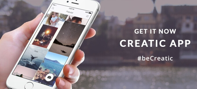 Dig deep into photo filters and impressive overlays with the new Creatic app for iOS