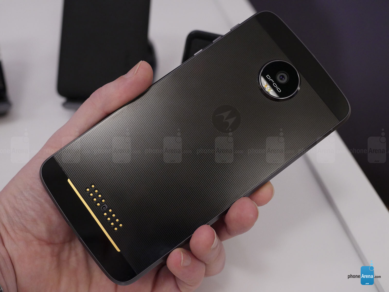 Moto Z Droid Moto Z Force Droid And Moto Mods Hands On