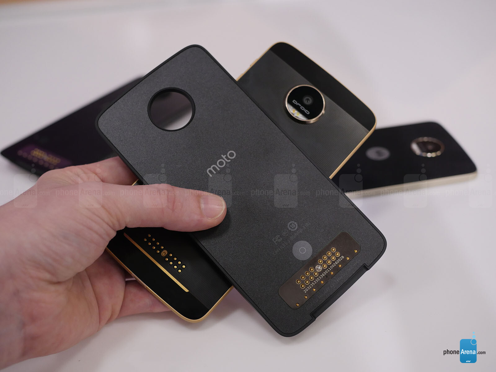 Moto Z Droid, Moto Z Force Droid, and Moto Mods hands-on ...