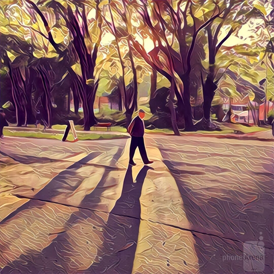 Trees and other vegetation look great with some of the filters. Lighting is very important! - Prisma: Turning mundane photos into beautiful works of art