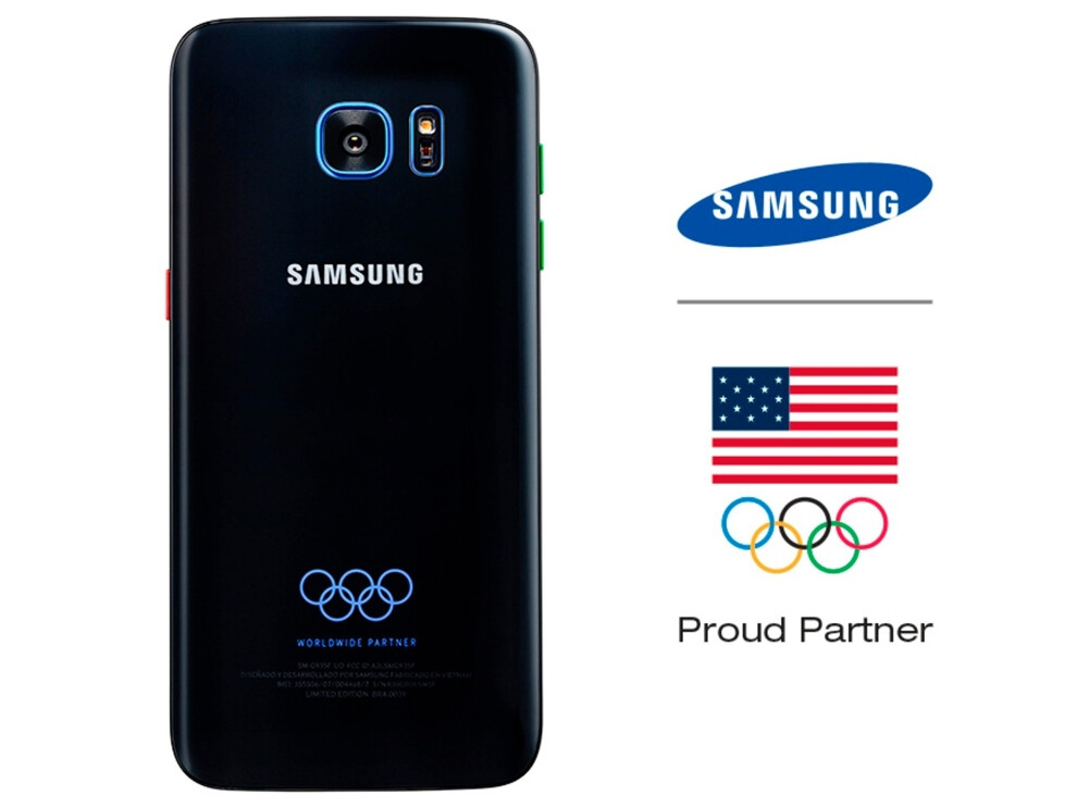 Samsung Galaxy S7 edge Olympic Games Limited Edition price ...