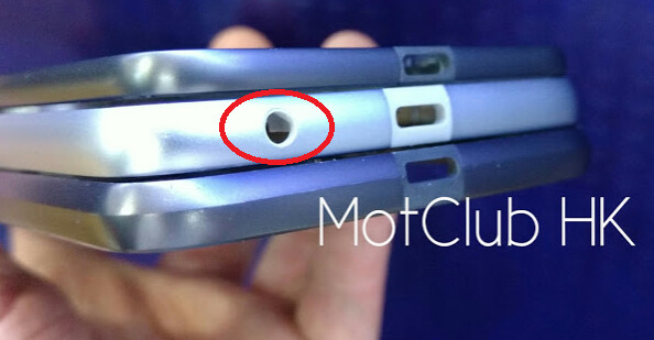 From top to bottom the Moto Z, Moto Z Play, Moto Z Force - Motorola Moto Z Play surfaces, revealing that it will have a 3.5mm headphone jack