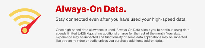 Verizon rolls out 'Always-On Data' to prepaid customers