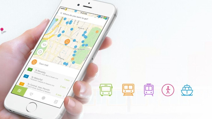 Embark is a smart public transportation app that covers 60 cities