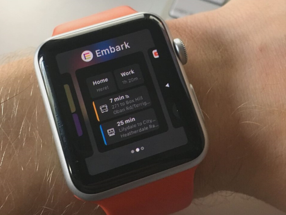 Embark covers all bases, including the Apple Watch - Embark is a smart public transportation app that covers 60 cities and integrates with Uber