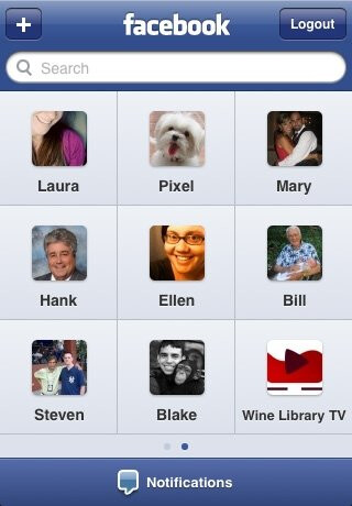 Facebook 3.0 for iPhone screenshots show off new features