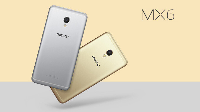 """Meizu MX6 goes official: a 5.5"""" slim metal phone with a fast camera and affordable price"""