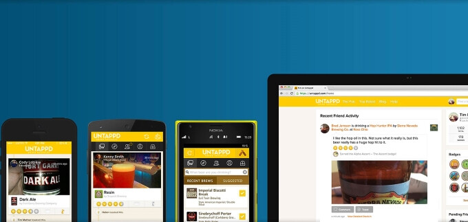 Untappd is the ultimate app for beer lovers and it's available on every smartphone