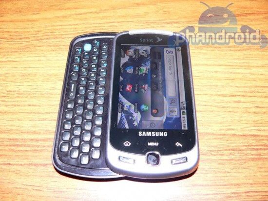 """""""Q"""" in Samsung Instinct Q stands for QWERTY?"""