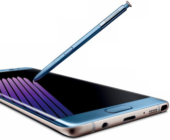 Note 7 picture with S Pen pops up, the stylus may function under water