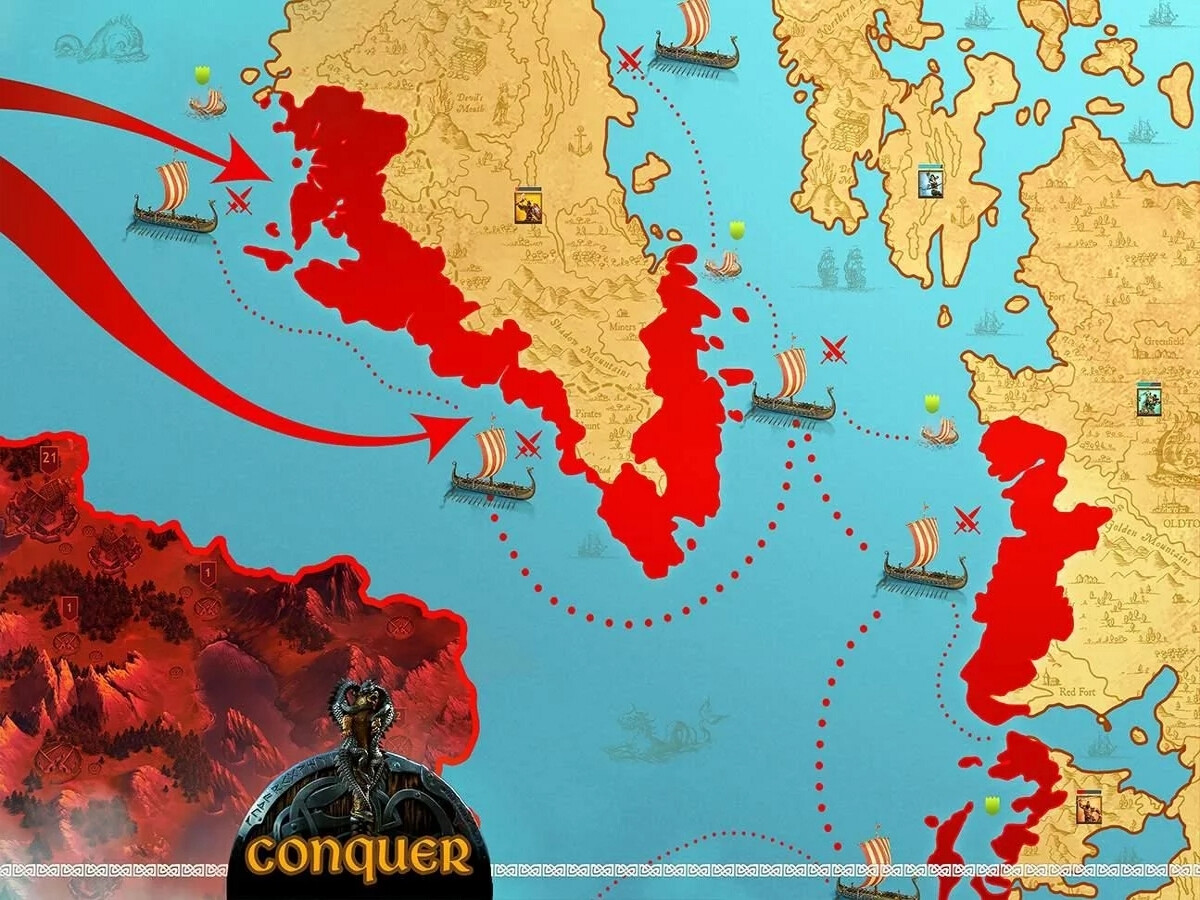 Vikings War of Clans замок