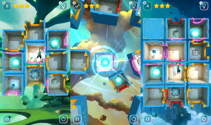Warp Shift is a stunning, artsy puzzle game that has just launched on Android