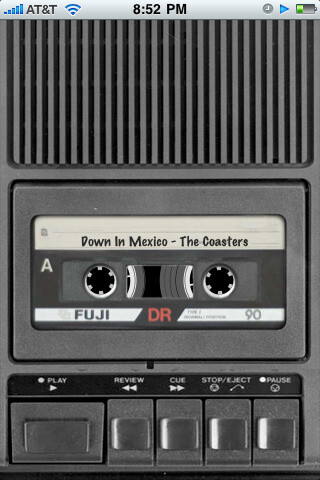 Cassette Deck - Old school music takes over the iPhone
