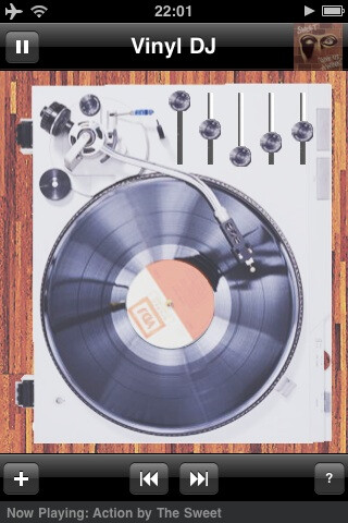 Vinyl DJ - Old school music takes over the iPhone