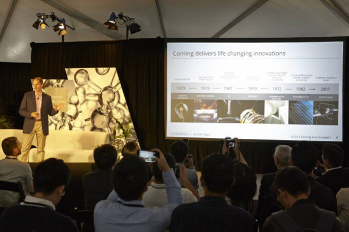 Corning presents the virtues of Gorilla Glass 5 - Gorilla Glass 5 to debut on the Galaxy Note 7, the Apple iPhone 7 may follow
