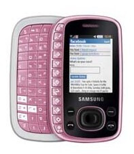 The Samsung B3310 sports a QWERTY keyboard and social network functionality