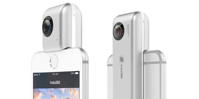 This could be the 360-degree panoramic video camera for the iPhone you've been waiting for