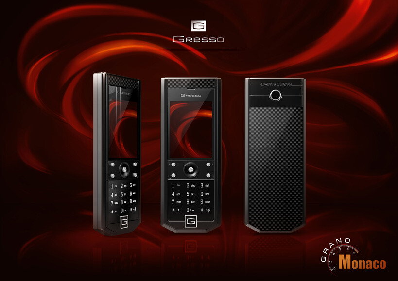 Handsets of a new limited edition series by Gresso, called Grand Monaco, are now available