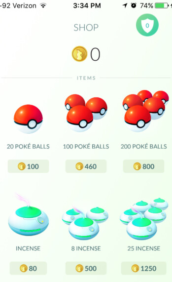 Pokecoins are used to make important purchases for a Pokemon trainer