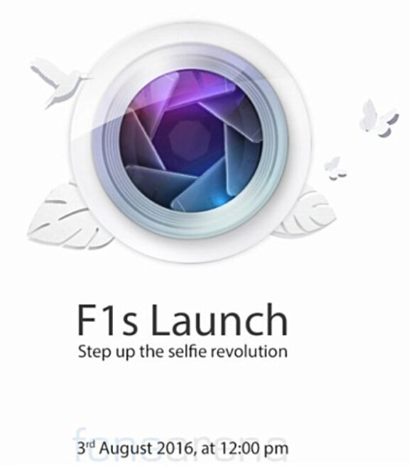 The Oppo F1s will be unveiled on August 3rd - Oppo F1s with 16MP selfie shooter, to be unveiled on August 3rd