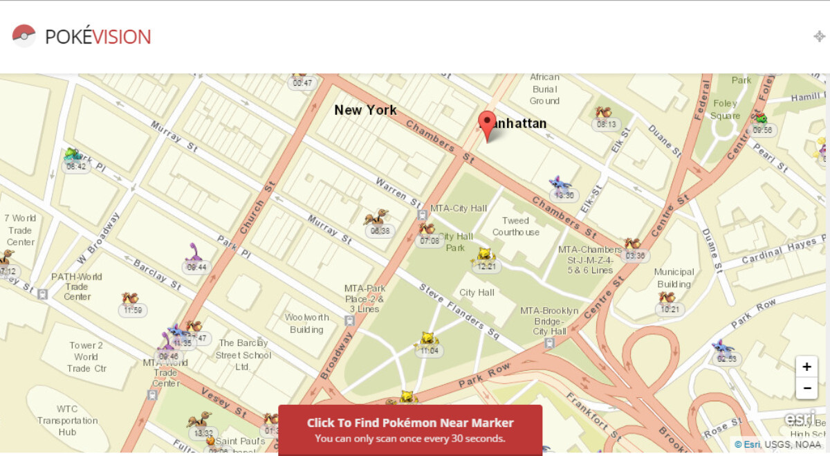5 Pokemon Go maps and advanced tools to help you catch 'em all