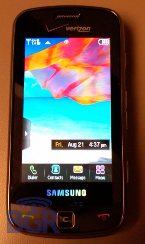 Samsung Rogue quietly enters Verizon stores, to be launched soon?
