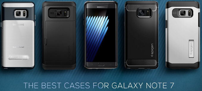 Spigen jumps the gun, prices a full 'best cases for Galaxy Note 7' collection