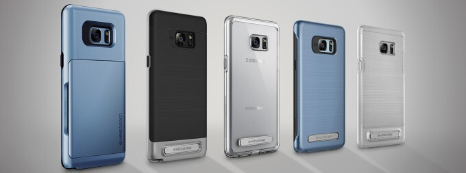Note 7 cases lineup from VRS Design bets on stylish yet affordable protection