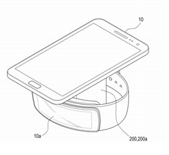 Samsung granted patent for vertical wireless charger that can charge two devices simultaneously