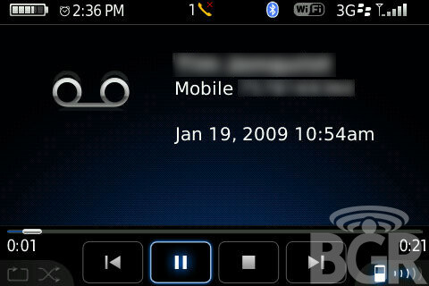 BlackBerry Bold owners scoring Visual Voicemail as soon as today