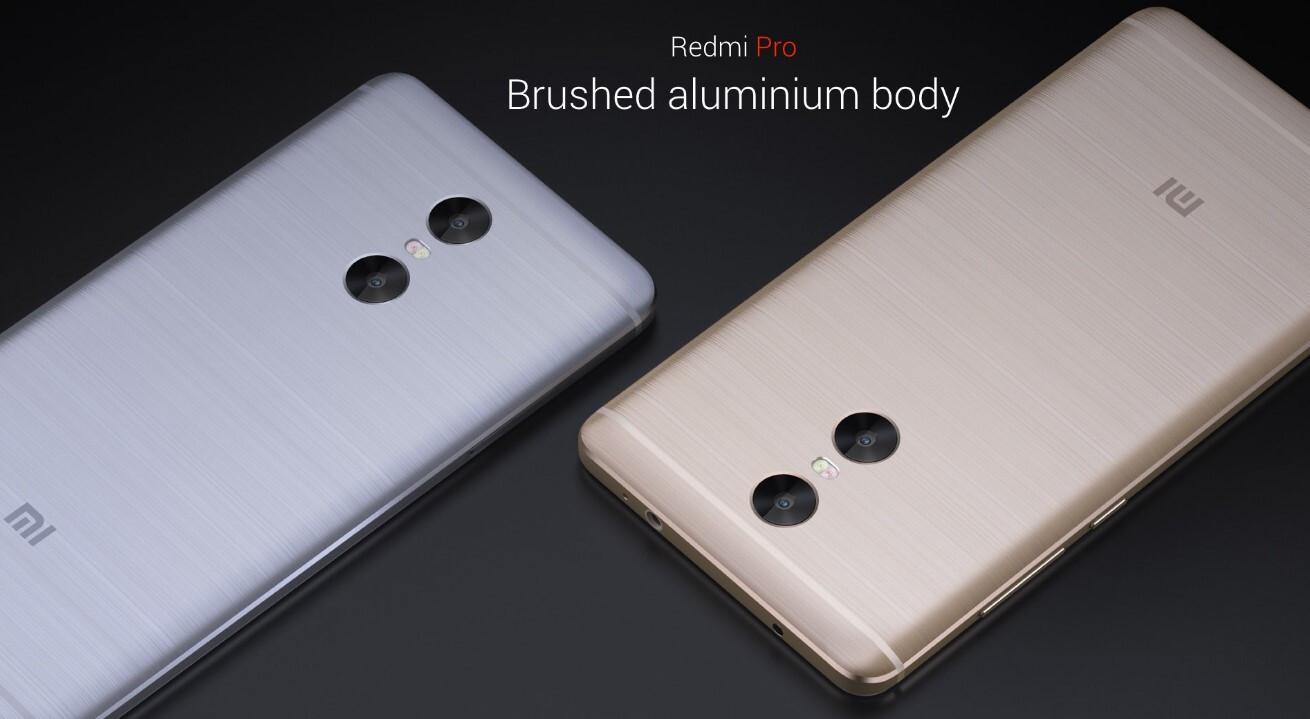 "5.5"" Xiaomi Redmi Pro is out: dual camera, 4050 mAh"