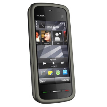 The Nokia 5230 – a touch sensitive screen, music and lots of colors