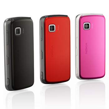 The Nokia 5230 comes in various colors
