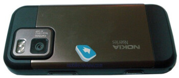 The metal cover among the advantages of the new  Nokia N97 Mini